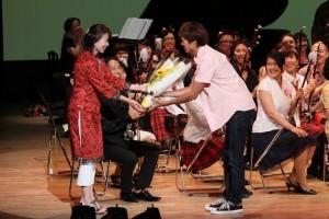 今年もステージで心弦の演奏を強く支えてくれましたバンドの皆さん、ありがとう!